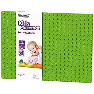 Abeba Placematix - PM103002- Children's Plastic Baseplate Placemat - 45x 35x 25cm - Grey