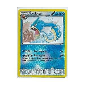 Nintendo - Carte Pokémon LEVIATOR HOLO REVERSE 24/124 NOIR & BLANC Dragons Exaltés FR NEUVE