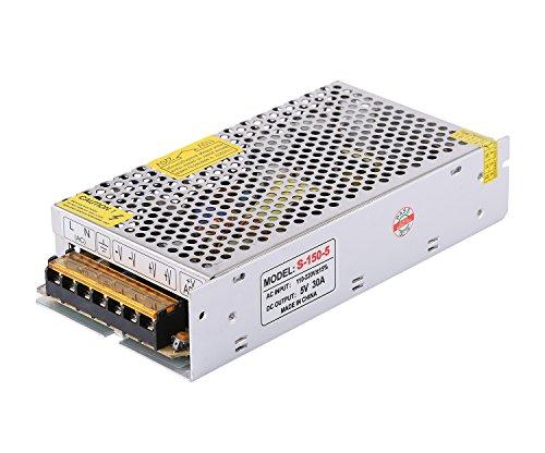 COLM 5V 30A 150W AC zu DC Schaltnetzteil AC 110V / 220V zu DC 5V 150W LED Treiber Transformator Adapter Konverter Ladegerät für LED-Streifen Licht -