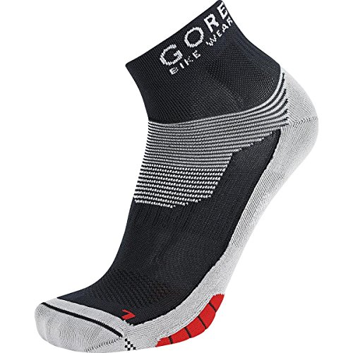 Gore(R)Wear GORE BIKE WEAR Race Cycling Socks, GORE Selected Fabrics, XENON Socks, Size 35-37, White/Red, FEXENM