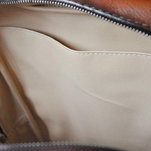 Laptop Rucksack Pratesi Leder italienischen Firenze rot rot zAIxRxtPnw