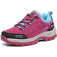 NEOKER Scarpe da Trekking Uomo Donna Arrampicata Sportive All aperto  Escursionismo Sneakers Army Green Blu f177e7ea8a6