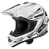 AXO Helm Jump SX10, Weiß/Schwarz/Grau, XL