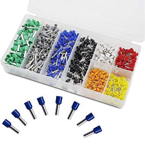 800 PCS Ferrules kit , VFENG Wire Ferrules Crimp Connector ...