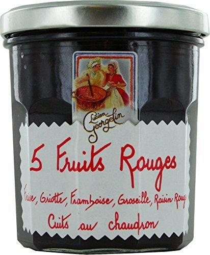 Les Recettes Cuites Au Chaudron - 5 Fruits Rouges (Fraise, Griotte, Framboise, Groseille Et Raisin)