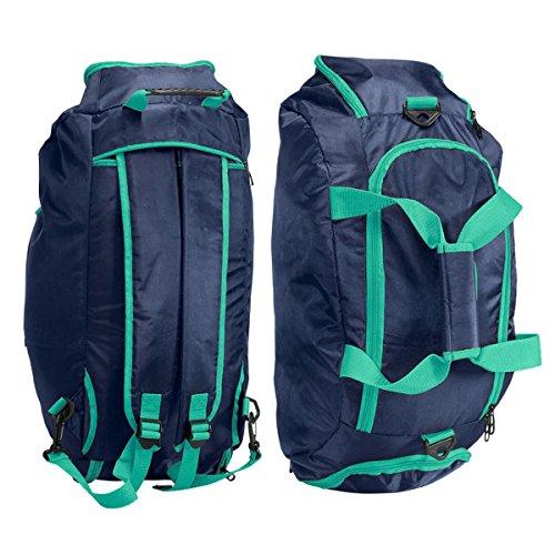 Sporttasche Sportrucksack 40L Rucksack Tasche Reisetasche verschiedene Farben, Farbe:orange grün
