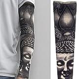 Mode - Nylon - Tattoo - Ärmel Vorübergehend Arm Strümpfe Halloween - Tattoo Weichen Für Männer Frauen,D