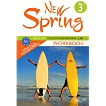Anglais 3e LV1 New Spring : Workbook, A2-B1