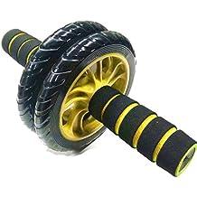 rueda de la rueda abdominal rodillo de la rueda y deportes de equipo casero de la aptitud de la rueda de primavera-abdominal abs Jian abdominal , 3