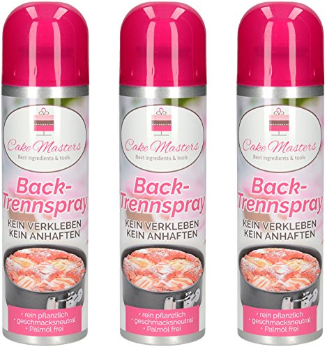 Cake Masters Trennspray Backtrennspray 3er Pack (3 x 200ml)
