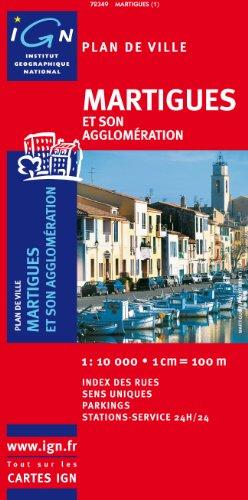 Plan de ville : Martigues (sans livret)