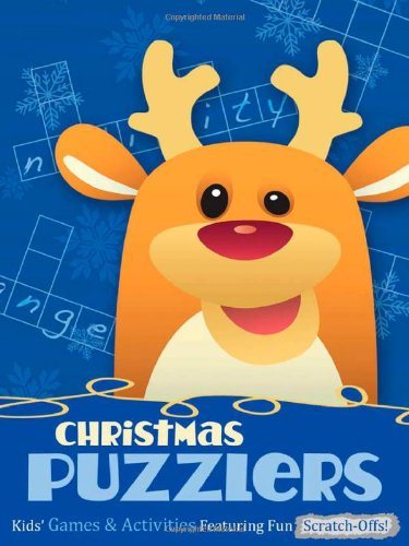 Christmas Puzzlers: Kids' Games & Activities Featuring Fun Scratch-Offs!