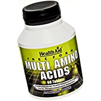 HealthAid Free Form Multi Amino Acids - 60 Tablets