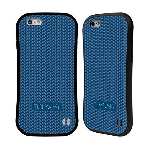Ufficiale Turnowsky Collage Modelli Case Ibrida per Apple iPhone 6 Plus / 6s Plus Geometrie 3
