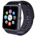 Smartwatch, Willful Smart Watch Intelligente Sport Uhr Armbanduhr Fitness Tracker mit Schrittzähler, Schlafanalyse, 1.54 Zoll Touchscreen, Kamera, SMS Facebook Vibration Kompatible Android Handy für Herren Damen