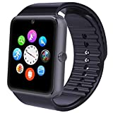Smartwatch, Willful Smart Watch Intelligente Sport Uhr Armbanduhr Fitness Tracker mit Schrittzähler, Schlafanalyse, 1.54 Zoll Touchscreen, Kamera, SMS Facebook Vibration Kompatible Android Handy für Herren Damen