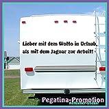 """Hochwertige Wohnwagen / Wohnmobil Aufkleber """" Spruch"""