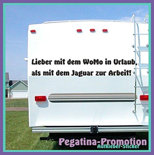 """n / Wohnmobil Aufkleber """" Spruch"""