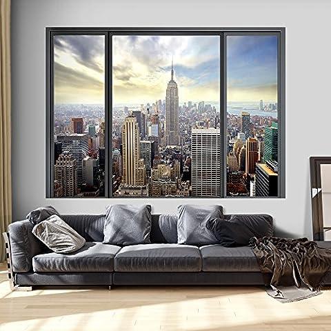 murando 3D ILLUSION D'OPTIQUE 140x100 cm Papier peint intissé tableaux