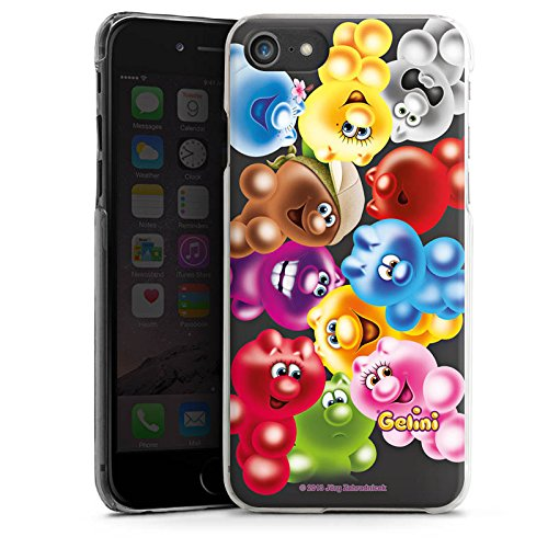 Apple iPhone X Silikon Hülle Case Schutzhülle Gelini Gummibaerchen Bunt Hard Case transparent