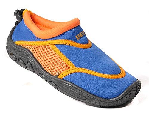 Beco, Scarpe da immersione donna (Blu/Arancione)