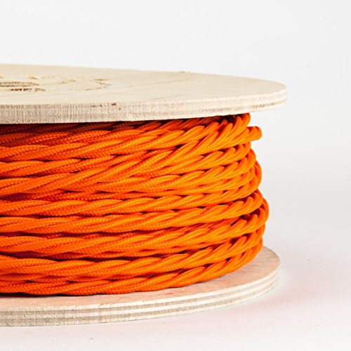 twisted-fabric-cable-zingy-orange-made-in-italy-price-per-meter-dowsing-and-reynolds