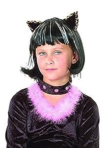Ciao 21702-peluca gatito niña casco con orejas, colores surtidos