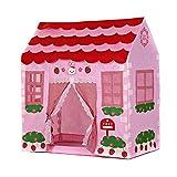 Spielzelt - TOOGOO(R)Spielhaus Maedchen Stadt Haus Kinder Geheimer Garten Rosa Spiel-Zelt Grossartig Geschenk