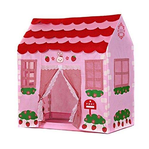 Spielzelt - TOOGOO(R)Spielhaus Maedchen Stadt Haus Kinder Geheimer Garten Rosa Spiel-Zelt Grossartig Geschenk (Spiel-zelt Kinder Für)