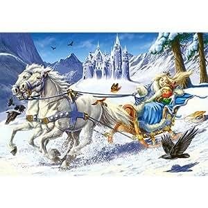 Puzzle 120 pièces - La reine des neiges