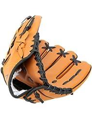 LEORX 10.5Gant de baseball/softball pour main gauche extérieur équipe Sport pour Femme (Jaune)