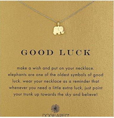 Temper_Girl Elephant - Collar de aleación con cadena corta, Elefant, Elefant