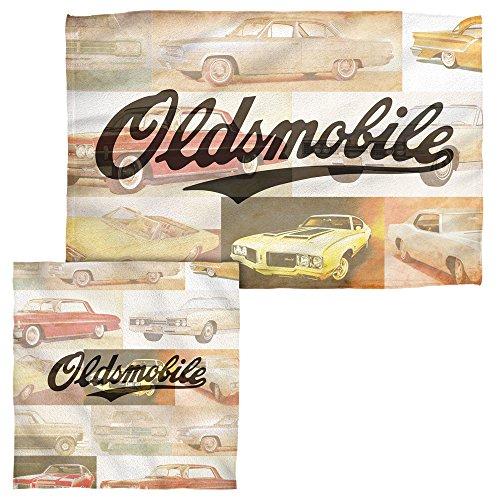 Oldsmobile Old Classics Handtuch-Weiß-16x 24hand, 100 % Polyester, weiß, Einheitsgröße