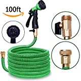 Best Expandable Hoses - Harcas 100ft Expandable Garden Hose Pipe Solid Brass Review