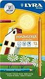 LYRA Youngster Metalletui mit 12 Farbstiften, Sortiert