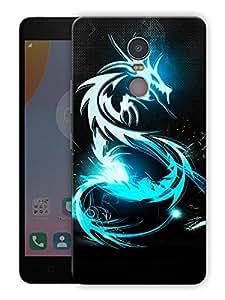 "Ulta Anda Dragon Life Printed Designer Mobile Back Cover For ""Lenovo K6 Note"" (3D, Matte Finish, Premium Quality, Protective Snap On Slim Hard Phone Case, Multi Color)"