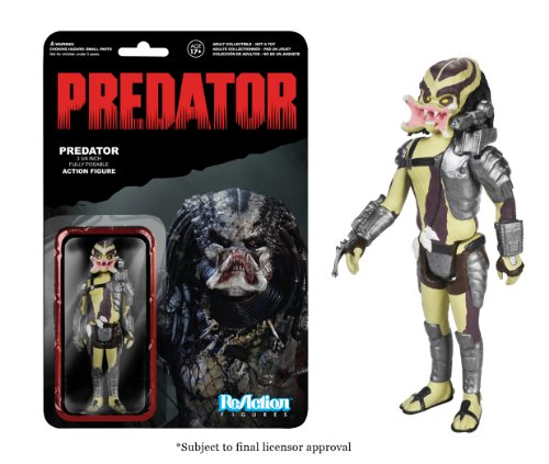 Funko - Figurine - Predator - ReAction Figure Collection - Open Mouth Predator - 10 cm - 0849803039196 1