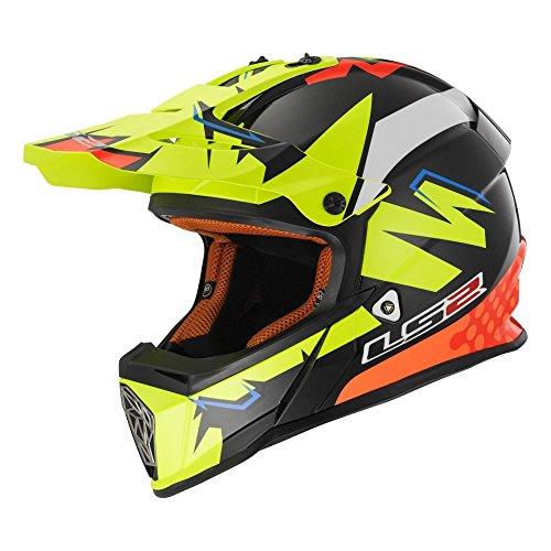 MX437 Fast Crosshelm Volt schw/gelb/orange XS - Motorradhelm