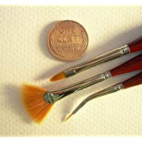Micron Mini Art Brush- Bent Liner Size 15/0 (one brush) by Dynasty