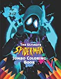The Ultimate Spider-man Jumbo Coloring Book Age 3-12: Ultimate...