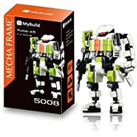 MyBuild Mecha Frame Puma Team Puma-A5 Sniper Mech 5008 Building Toy with Wonderful Articulation Unique Frame System All Bricks Compatible with Other Major Brands