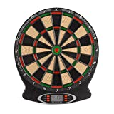 Toyrific Children's Electronic Dartboard with LED Digital Score Display and Plastic Tip Darts