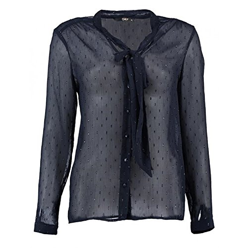 Only - Camicia -  donna blu 38