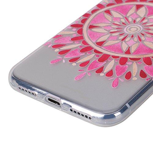 2pcs Cover Soft per iPhone X, Asnlove Morbida Elegante Caso Ultra Sottile TPU Gomma Gel Custodia Motif di Colore Cassa Antiurto Silicone Trasparente Case Posteriore Per iPhone X, Gruppo-3 Colore-2