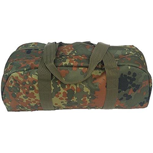 Armeeverkauf BW Mechanikertasche Tragetasche Sporttasche wasserdicht mit Henkeln (BW Flecktarn)