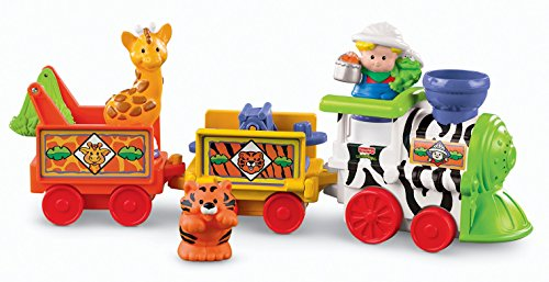 Mattel Fisher-Price M0532 - Little People, Musical Zoo Train