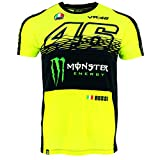 Valentino Rossi VR46 Moto GP Monster Energy Replica T-shirt Offiziell 2017