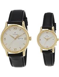 Titan Bandhan Analog White Dial Men's Watch -NK15802490YL04