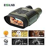 ESSLNB Binokulares Nachtsichtgerät Jagd Militär Infrarot Fernglas mit Nachtsicht mit 8GB Karte und 8 AA Batterien...
