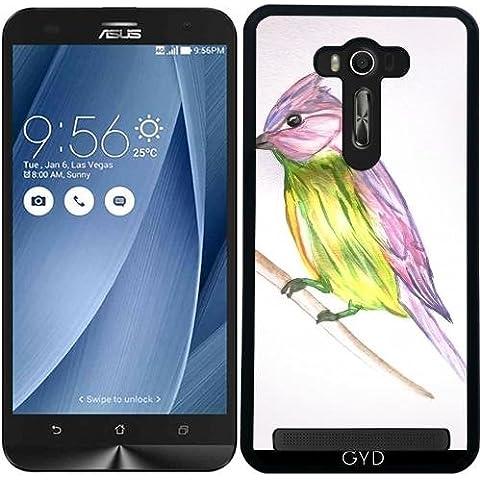 Custodia per Asus Zenfone 2 Lazer (ZE550KL) - Piccolo Uccello by Youlia and Tayfun